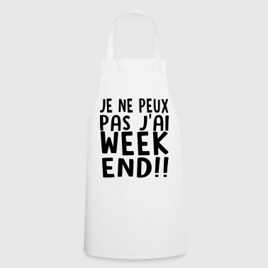j'ai weekend - Tablier de cuisine