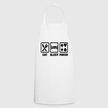 Holdem Eat Sleep Poker Funny Poison Texas Holdem - Cooking Apron