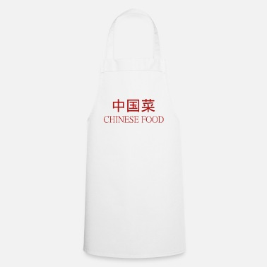 CHINESE FOOD - Tablier de cuisine