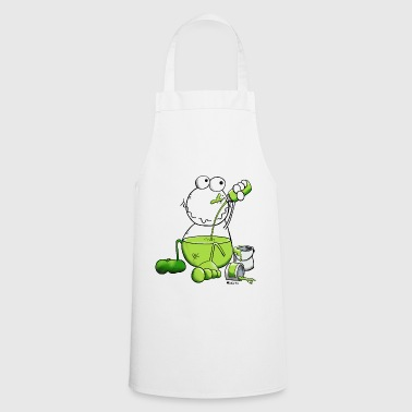 Colourful Colour Frog - Cooking Apron