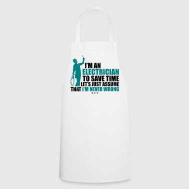 I'm electrician to save time - Cooking Apron