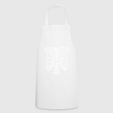 Skeleton composed of bird silhouettes - Cooking Apron