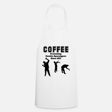 Apocalypse coffee apocalypse - Cooking Apron