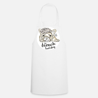 French &amp French Bulldog - Apron