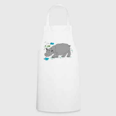 Hippo meadow - Cooking Apron
