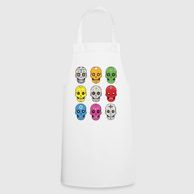 Sugar skulls - Cooking Apron