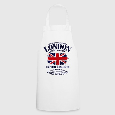 London - Union Jack Vintage Flag - Cooking Apron