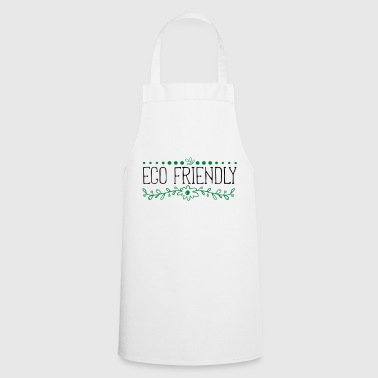 Eco, Bio, Environmentally Friendly, Environmental Protection - Cooking Apron