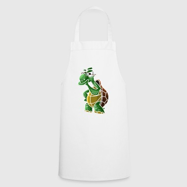 Turtle philosopher thinker water animal - Cooking Apron