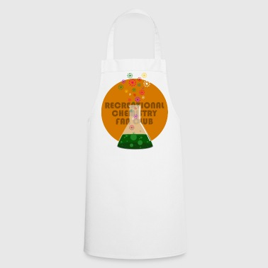 Recreational Chemistry Fan Club (orange) - Cooking Apron