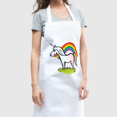 Unicorn and Rainbow - Cooking Apron