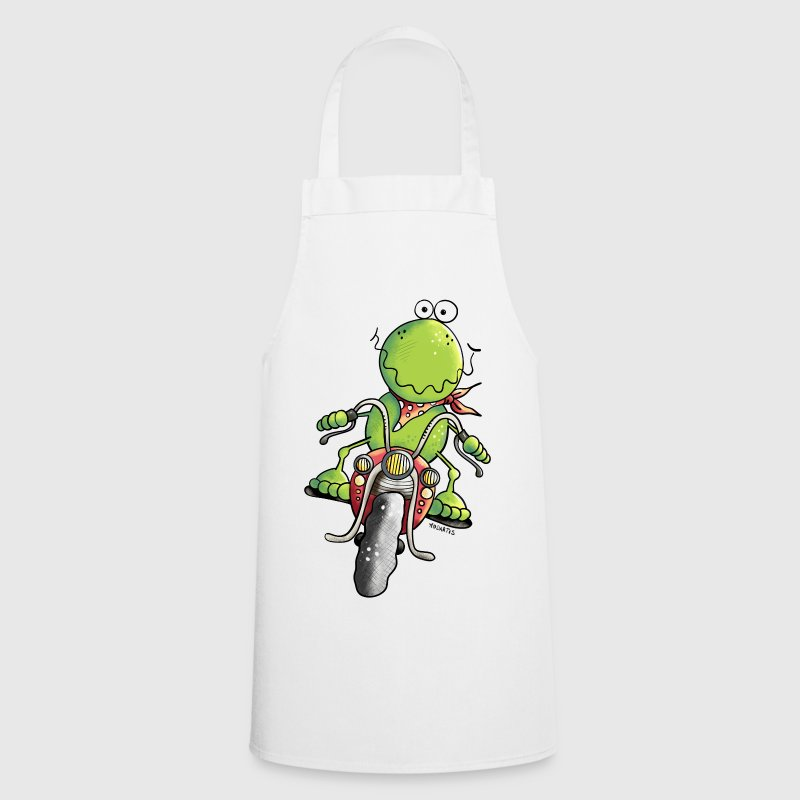 Biker Frog - Cooking Apron