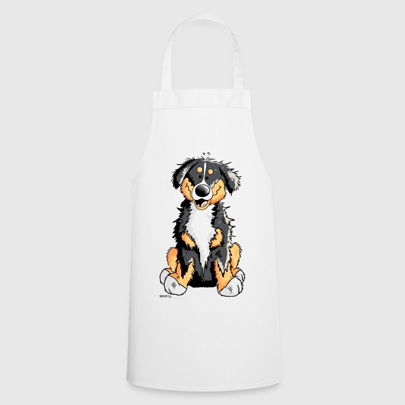 Cute Bernese Mountain Dog - Cooking Apron