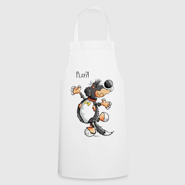 Funny Playing Bernese Mountain Dog - Gift - Cooking Apron