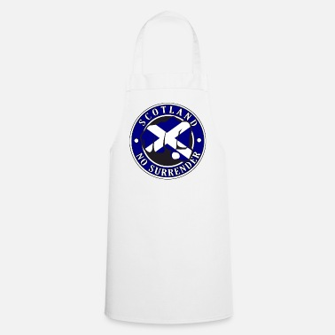 Tartan Scotland No Surrender Fist - Cooking Apron