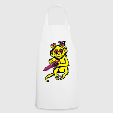 Steampunk Monkey - Cooking Apron