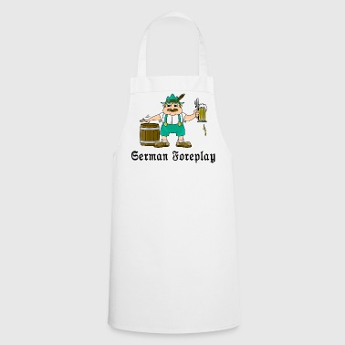 German Foreplay - Cooking Apron