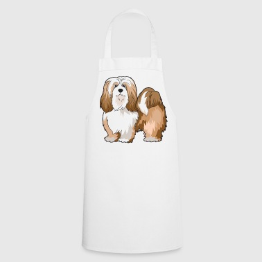 Lhasa Apso Dog - Cooking Apron