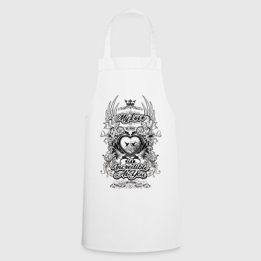 Love Incredible As You - Cooking Apron