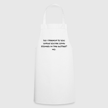 Serie TV - Television - Quotes - Citation - Zitat - Cooking Apron