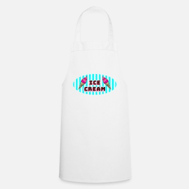 Ice Ice cream ice cream - Cooking Apron