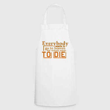 Go to heaven - Cooking Apron