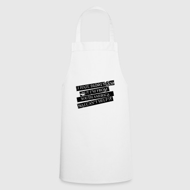Motive for cities and countries - SOUTH AMERICA - Cooking Apron