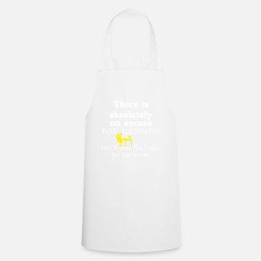 Lazy laziness - Cooking Apron