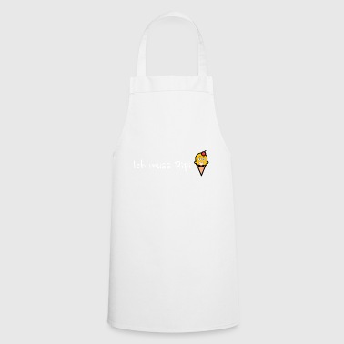 Pee Ice Cream Embarrassed with Cherry - Cooking Apron