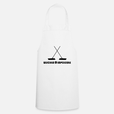 Clean What It Is Wipe Clean Clean - Cooking Apron