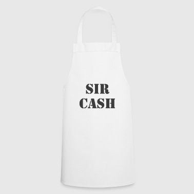 Sir Cash Cash Doller Euro Money - Fartuch kuchenny