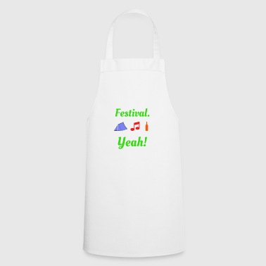 Festival Yeah Music Party - Cooking Apron