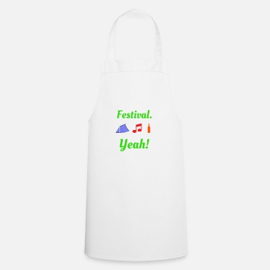 Old Festival Yeah Music Party - Cooking Apron
