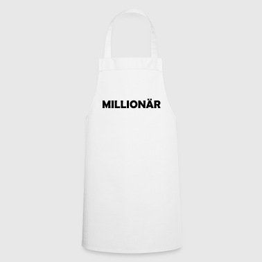 Millionaire million euros gift idea - Cooking Apron