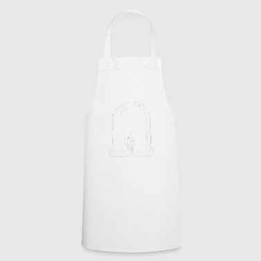 Stinky finger - grave - Cooking Apron