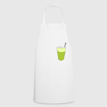 Matcha the morning morning gift birthday - Cooking Apron