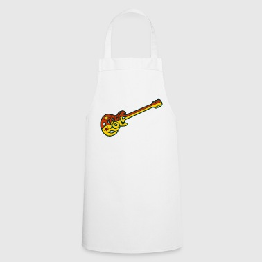 Guitarra Rock n 'roll - Delantal de cocina
