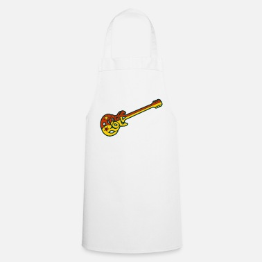 Rock N Roll Guitarra Rock n 'roll - Delantal de cocina