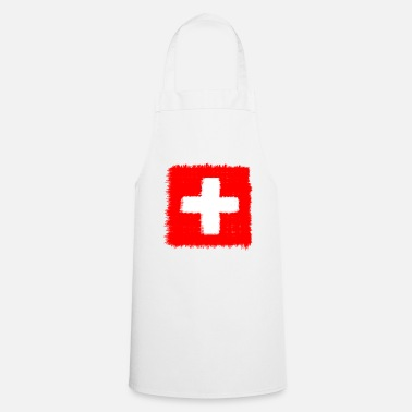 Swiss Swiss flag - Cooking Apron