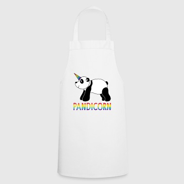 PANDICORN | CADEAU DE CONCEPTION FUNNY PANDA UNICORN - Tablier de cuisine