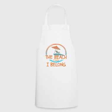 Beach - Beach - Cooking Apron