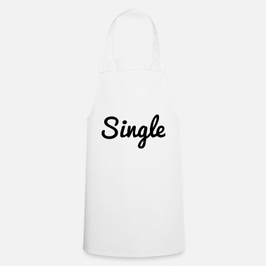 Single Single - Kochschürze