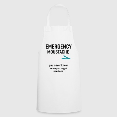 mustache - Cooking Apron