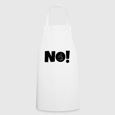 Middle-finger NO! Middle finger stinky finger - Cooking Apron
