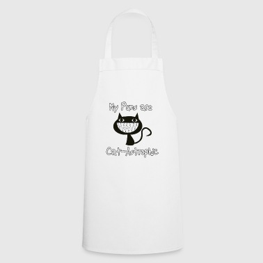 Cats puns - Cooking Apron