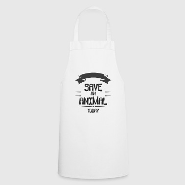 Animal Welfare - Save an Animal Today - Cooking Apron