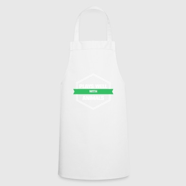 Animal Welfare - Plays well with Animals - Cooking Apron