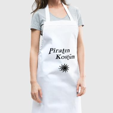 Costume de pirate - Tablier de cuisine