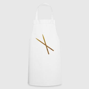 Drummer drummer drummer sticks - Cooking Apron