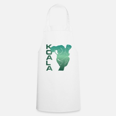 Eucalyptus Koala eucalyptus koala bear animal - Cooking Apron